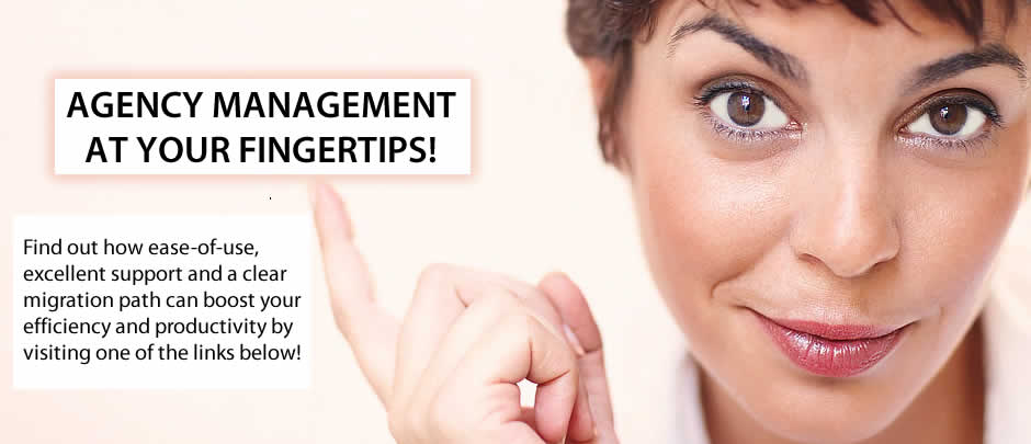 Agency Management at your Fingertips!